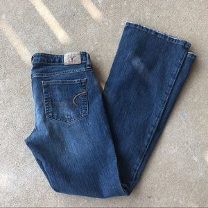 American Eagle stretch fit jeans